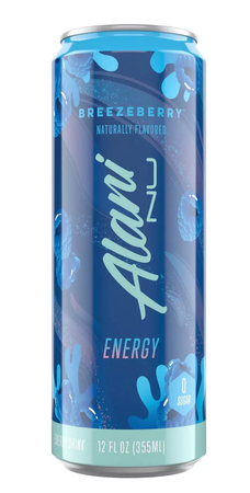 Alani Nu Energy Drink  Breezeberry  - 12 Cans ($28.99 w/coupon code DPS10)