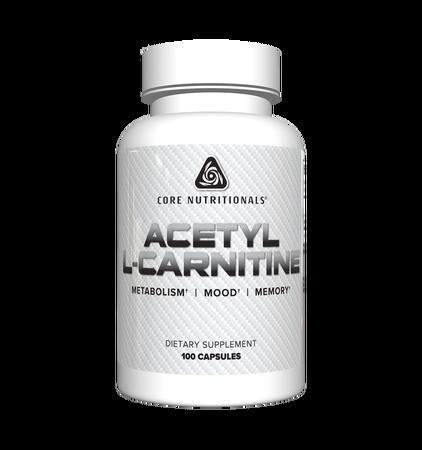 Core Nutritionals Acetyl L-Carnitine 500 Mg - 100 Cap