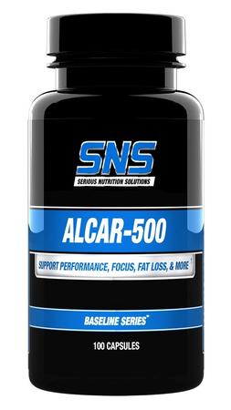 SNS Serious Nutrition Solutions ALCAR-500 - 100 Caps