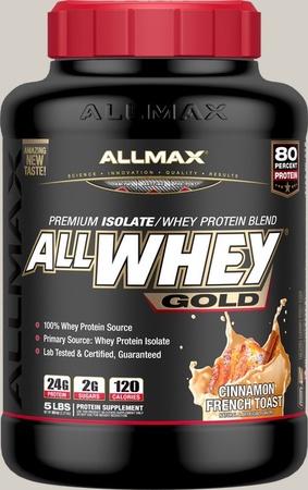 AllMax Nutrition AllWhey Gold Cinnamon French Toast - 5 Lb