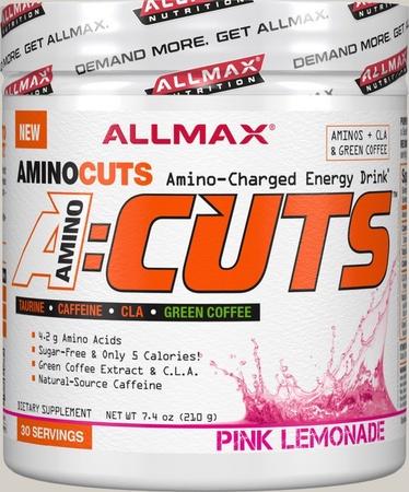 AllMax Nutrition ACUTS Amino Cuts Pink Lemonade - 30 Servings
