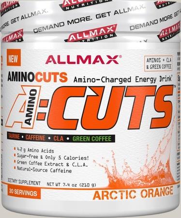 AllMax Nutrition Amino Cuts Orange - 30 Servings