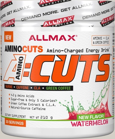 AllMax Nutrition Amino Cuts Watermelon - 30 Servings