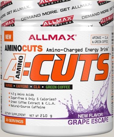 AllMax Nutrition Amino Cuts Grape - 30 Servings
