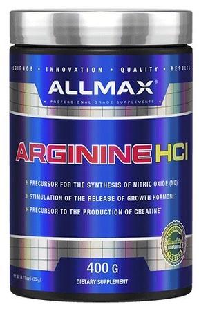 AllMax Nutrition Arginine HCl - 400 Grams
