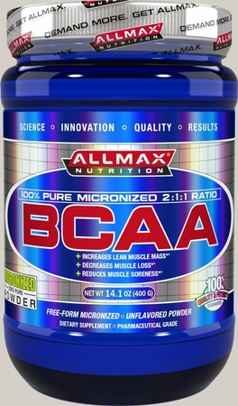 AllMax Nutrition BCAA Unflavored - 80 Servings