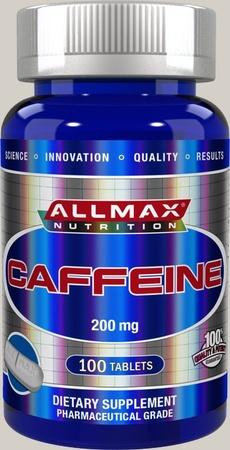 AllMax Nutrition Caffeine 200 Mg - 100 Tab