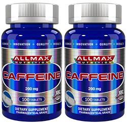 AllMax Nutrition Caffeine 200 Mg - 2 x 100 Tab TWINPACK