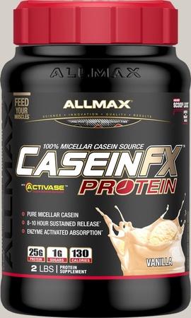AllMax Nutrition Casein FX Vanilla - 2 Lb