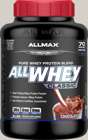 AllMax Nutrition Classic Whey Chocolate - 5 Lb
