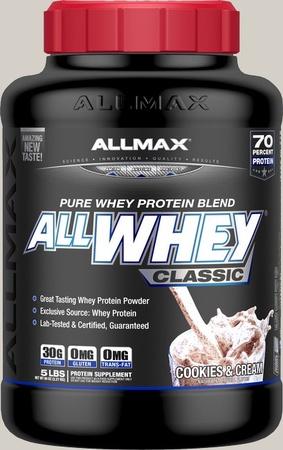 AllMax Nutrition Classic Whey Cookies & Cream - 5 Lb