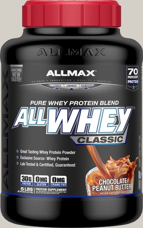 AllMax Nutrition Classic Whey Chocolate PB - 5 Lb