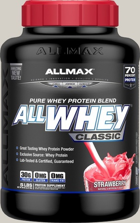 AllMax Nutrition Classic Whey Strawberry - 5 Lb