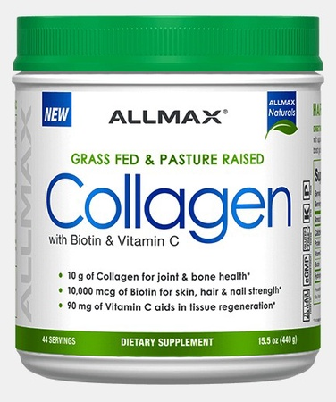 AllMax Nutrition Collagen Unflavored - 44 Servings