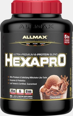 AllMax Nutrition Hexapro Chocolate - 5 Lb
