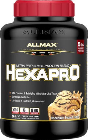 AllMax Nutrition Hexapro Chocolate Peanut Butter - 5 Lb