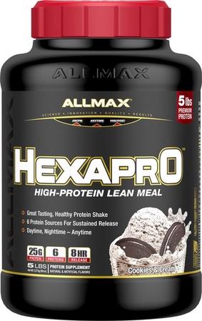 AllMax Nutrition Hexapro Cookies & Cream - 5 Lb