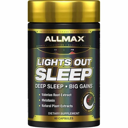 Allmax Nutrition Lights Out Sleep - 60 Cap