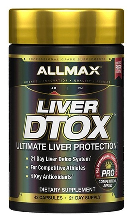 Allmax Nutrition Liver DTox - 42 Capsules