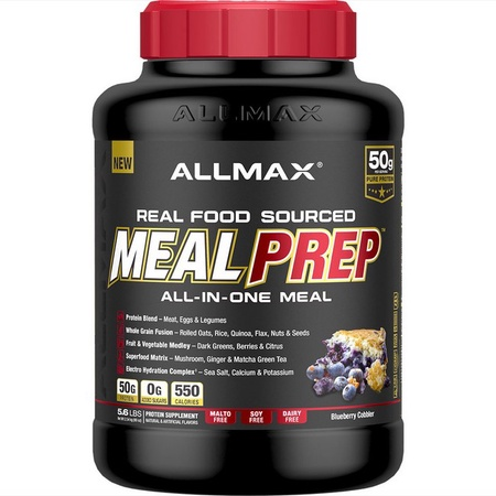 AllMax Nutrition MEAL PREP - BlueBerry Cobbler - 5.6 Lb