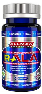 AllMax Nutrition R-ALA - 60 Cap