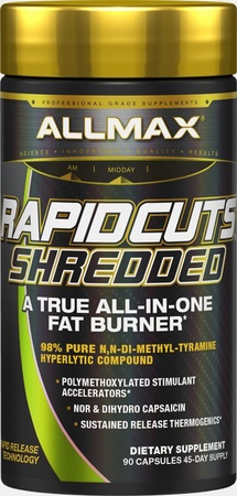 AllMax Nutrition Rapidcuts Shredded - 90 Cap