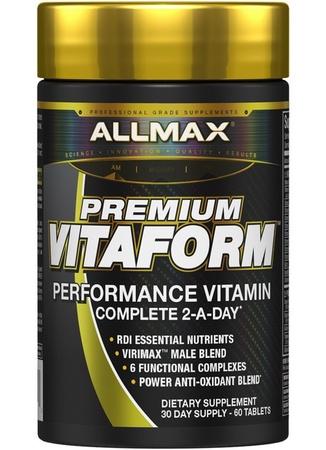 AllMax Nutrition VitaForm Multi Vitamin for Men - 30 Day (60 Tabs)