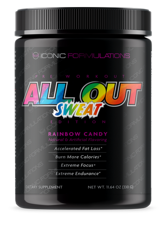 Iconic Formulations All Out Sweat Rainbow Candy - 20-40 Servings