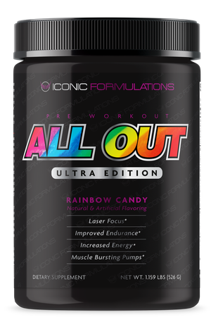 Iconic Formulations All Out Ultra Edition Rainbow Candy - 20-40 Servings