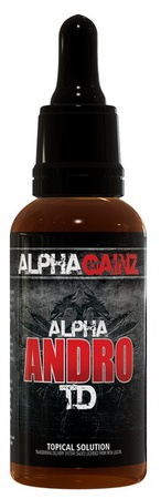 Alpha Gainz Alpha Andro TD Transdermal Androsterone 100mg/ml - 30 ml