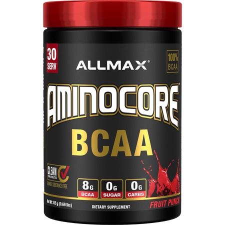 Allmax Nutrition Aminocore BCAA  Fruit Punch - 30 Servings