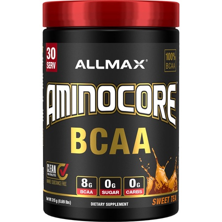 Allmax Nutrition Aminocore BCAA  Sweet Tea - 30 Servings