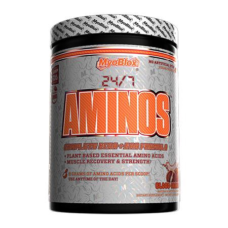 MyoBlox 24/7 Aminos EAA/BCAA Blood Orange - 30 Servings
