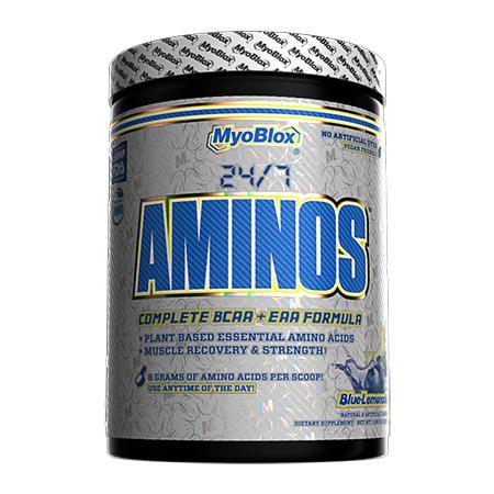MyoBlox 24/7 Aminos EAA/BCAA Blue Lemonade - 30 Servings