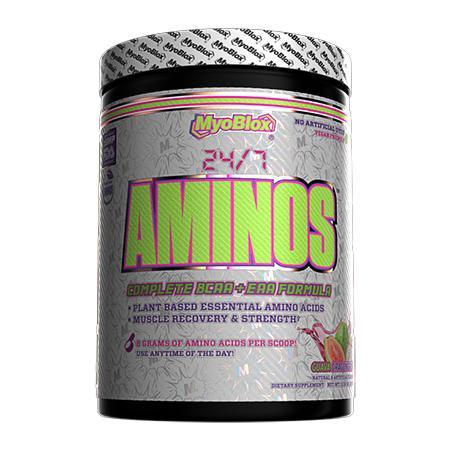 MyoBlox 24/7 Aminos EAA/BCAA Guava Dragon Fruit - 30 Servings