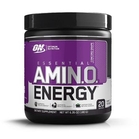 -Optimum Nutrition Amino Energy Grape - 20 Servings ($11.99 w/DPS10 coupon code)