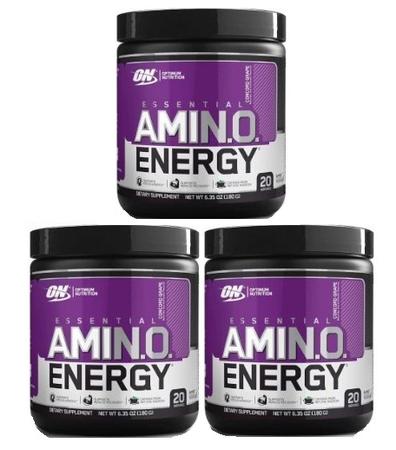 -Optimum Nutrition Amino Energy Grape - 60 Servings (3 x 20 Servings) *29.99 w/coupon code DPS10