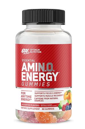 Optimum Nutrition Amino Energy Gummies Assorted Flavors - 60 Gummies