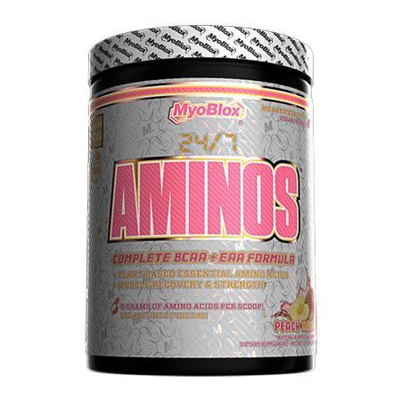 MyoBlox 24/7 Aminos EAA/BCAA Peach Mango - 30 Servings