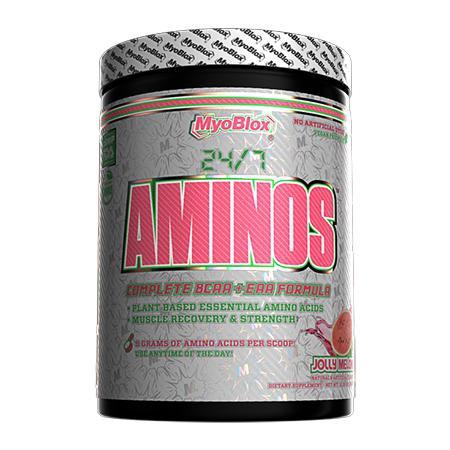 MyoBlox 24/7 Aminos EAA/BCAA Jolly Melon  - 30 Servings