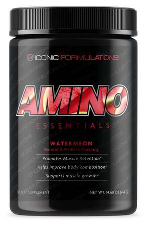 Iconic Formulations Amino Essentials EAA's Watermelon - 30 Servings
