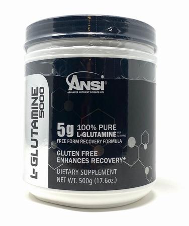 -ANSI L-Glutamine 100% Pure powder - 500 Grams