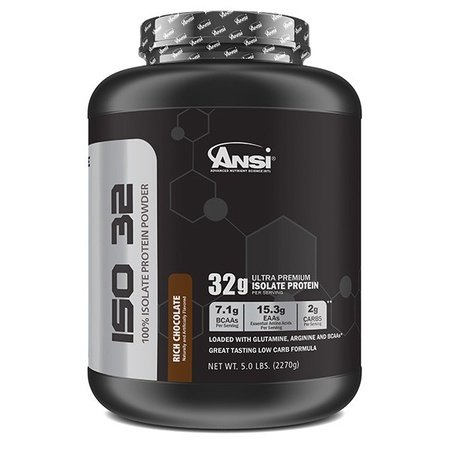 ANSI ISO 32 Isolate Whey Protein Rich Chocolate - 5 Lb