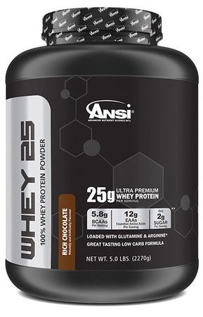 ANSI Whey 25 Whey Protein Chocolate - 5 Lb