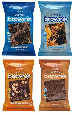 AP Prime Bites Protein Brownie  Variety Pack - 12 Pack  (3 each flavor)