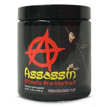Apollon Nutrition / Anarchy Labs Assassin Preworkout Firecracker Pop - 20-40 Servings