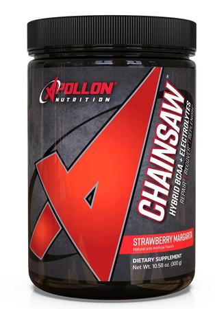 Apollon Nutrition Chainsaw Hybrid BCAA + Electrolytes V2 Strawberry Margarita - 30 Servings