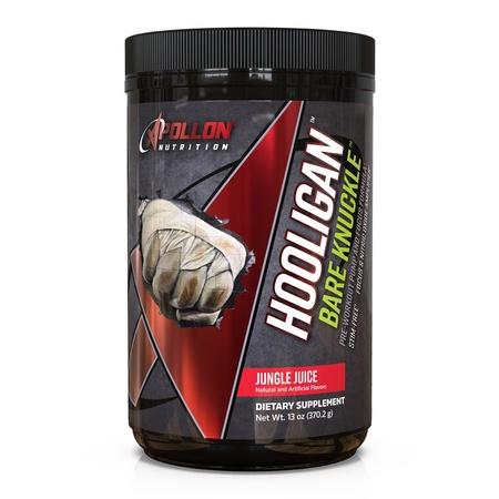 Apollon Nutrition Hooligan Bare Knuckle V3 Jungle Juice - 20-40 Servings *New Formula