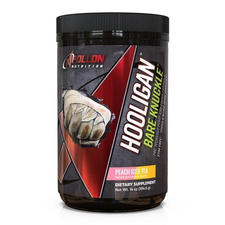 Apollon Nutrition Hooligan Bare Knuckle V3  Peach Iced Tea - 20-40 Servings *New Formula