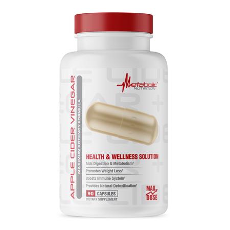Metabolic Nutrition Apple Cider Vinegar - 90 Cap